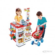Set Supermercado y Carro Toys