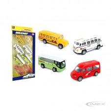 Set de Buses Fricción Toys