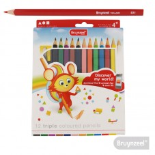 Caja Cartón 12 lápices de...