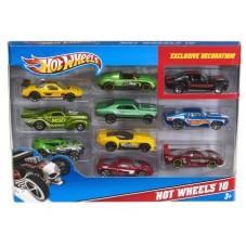 Set 10 autitos Hot Wheels
