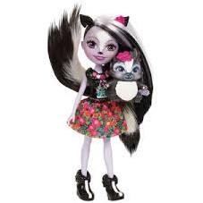 Muñeca Enchantimals Sage Skunk