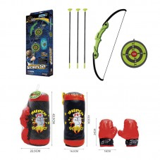 ARCHERY SET + SET DE BOXEO