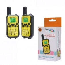 KIT 2 WALKIE TALKIE AMARILLOS.